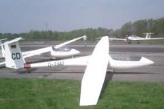 ASW19 (D-7047) Einsitziges Segelflugzeug der FAI-Clubklasse. Baujahr 1984
