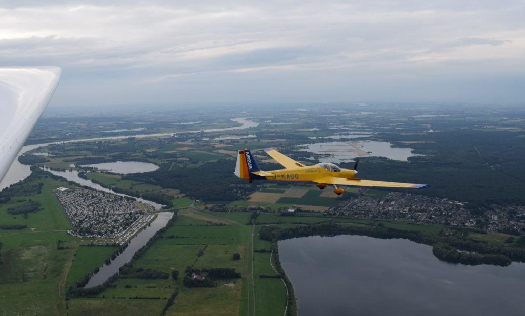 Falke Formationsflug mit ASK21